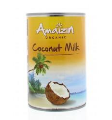 Amaizin Cocosmelk zonder guargom 400 ml | € 2.83 | Superfoodstore.nl