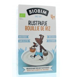 Biobim Baby rijstpapje 4 maanden 200 gram | Superfoodstore.nl