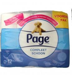 Page Toiletpapier original 12 rollen | € 5.71 | Superfoodstore.nl