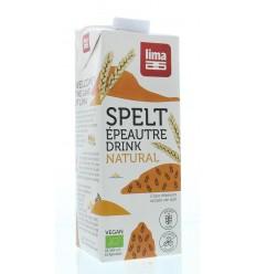 Lima Spelt drink natural 1 liter | Superfoodstore.nl