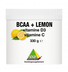BCAA SNP BCAA lemon Vit D3 Vit C 330 gram kopen
