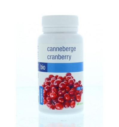 Purasana Bio cranberry 360 mg 30 vcaps | Superfoodstore.nl
