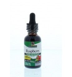 Natures Answer Frambozenblad extract 1:1 alcoholvrij 1000 mg 30 ml | € 18.04 | Superfoodstore.nl