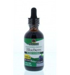 Natures Answer Blauwe Bes extract 1:1 alcoholvrij 1000 mg 60 ml