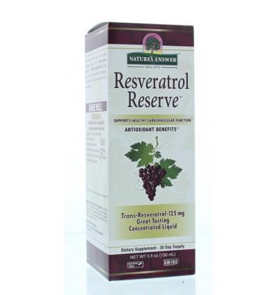 Natures Answer Resveratrol reserve complex vloeibaar 1450 mg