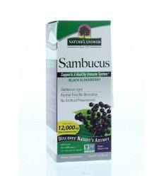 Natures Answer Sambucus vlierbessen extract 12.000 mg suikervrij 120 ml | € 18.44 |