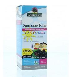 Natures Answer Sambucus kids vlierbessen extract 4000 mg 120 ml