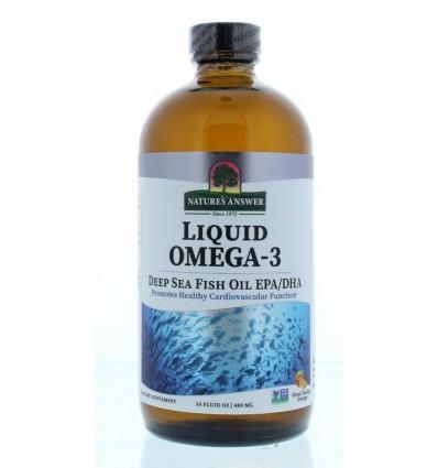 Vetzuren Natures Answer Vloeibaar Omega 3 DHA/EPA 1.150 mg 480 ml kopen