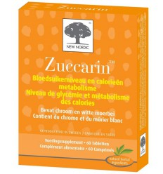 New Nordic Zuccarin 60 tabletten | Superfoodstore.nl