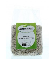 Bountiful Zonnebloemenpitten bio 400 gram | Superfoodstore.nl