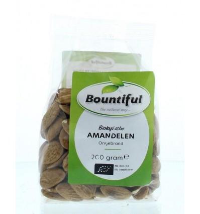 Bountiful Amandelen ongebrand 200 gram | Superfoodstore.nl