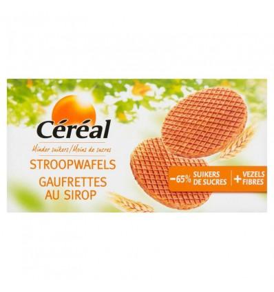 Koek Cereal Stroopwafels minder suikers 175 gram kopen