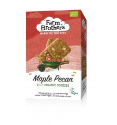 Farm Brothers Maple & pecan koekjes vegan 150 gram |