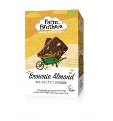 Farm Brothers Brownie & almond koekjes 150 gram | € 2.72 | Superfoodstore.nl