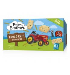 Farm Brothers Kids chocolate chip cookies 6 x uitdeelzakjes 102
