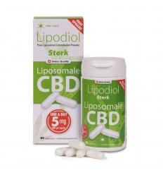 Vedax Lipodiol sterk, Liposomale CBD 5 mg 60 vcaps | € 40.04 | Superfoodstore.nl