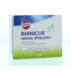 Rhinicur Neus spoelzout 2.5 gram 20 stuks | Superfoodstore.nl