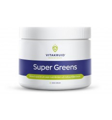 Vitakruid Super greens 220 gram | Superfoodstore.nl