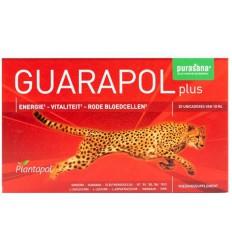 Purasana Plantapol Guarapol plus 20 ampullen | Superfoodstore.nl