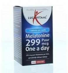 Lucovitaal Melatonine puur 0.299 mg 200 tabletten |
