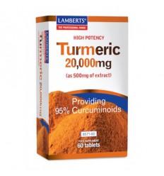 Lamberts Curcuma 20.000 mg (turmeric) 60 tabletten  