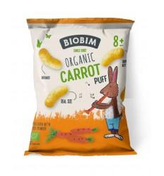 Biobim Carrot puff 8+ maanden 20 gram | Superfoodstore.nl