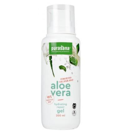Purasana Aloe vera gel 98% 200 ml | € 12.04 | Superfoodstore.nl