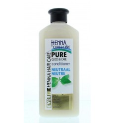 Henna Cure & Care Conditioner pure no parabens neutraal 400 ml