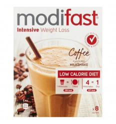 Modifast Intensive milkshake cafe 440 gram | € 17.82 | Superfoodstore.nl
