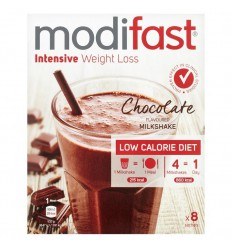 Modifast Intensive milkshake chocolade 8 zakjes 440 gram |