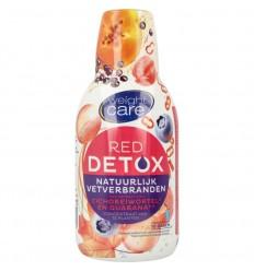 Afslanken Weight Care Detox siroop red vetverbrandend 500 ml