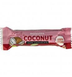 Bonvita Bonbarr choco cocos bar puur 40 gram | Superfoodstore.nl