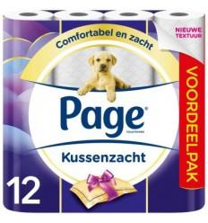 Page Toiletpapier kussenzacht 12 rollen   Superfoodstore.nl