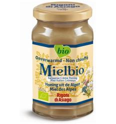 Mielbio Alpen creme honing 300 gram | Superfoodstore.nl