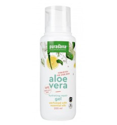 Purasana Aloe vera gel 97% parfum essentiele olie 200 ml | € 12.04 | Superfoodstore.nl