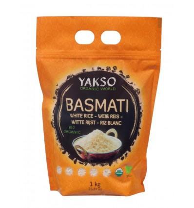 Yakso Basmati rijst wit 1 kg | € 5.30 | Superfoodstore.nl