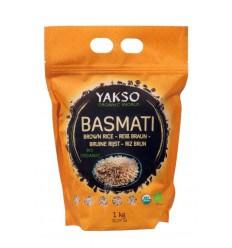 Yakso Basmati rijst bruin 1 kg | € 4.99 | Superfoodstore.nl