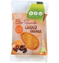 Ecobiscuit Choco orange 45 gram | Superfoodstore.nl