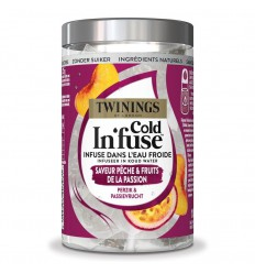 Twinings Cold infuse perzik passievrucht 10 stuks | € 5.28 | Superfoodstore.nl