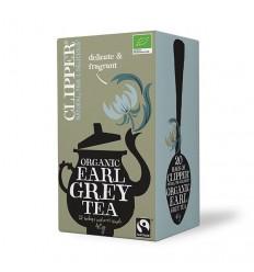 Clipper Earl grey tea bio 20 zakjes | Superfoodstore.nl