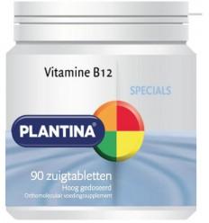 Plantina Vitamine B12 90 zuigtabletten | € 13.89 | Superfoodstore.nl