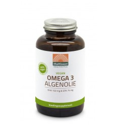 Mattisson Vegan omega 3 algenolie DHA 150 mg EPA 75 mg 180
