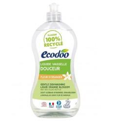 Ecodoo Afwasmiddel vloeibaar zacht oranjebloesem 500 ml |