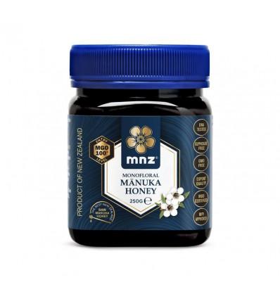 Manuka New Zealand Manuka honing MGO 100+ 250 gram | € 27.95 | Superfoodstore.nl
