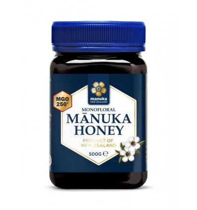 Manuka Honing Manuka New Zealand MGO 250+ 500 gram kopen