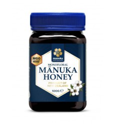 Manuka New Zealand Manuka honing MGO 400+ 500 gram |