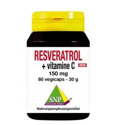 Resveratrol SNP Resveratrol + vitamine C 150 mg puur 60 vcaps