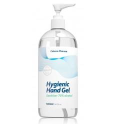 Cobeco Hygienische hand gel (70% alcohol) pomp 500 ml |