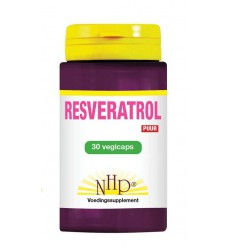 NHP Resveratrol 250 mg puur 30 vcaps | Superfoodstore.nl