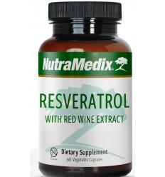 Nutramedix resveratrol 60 vcaps | € 26.36 | Superfoodstore.nl